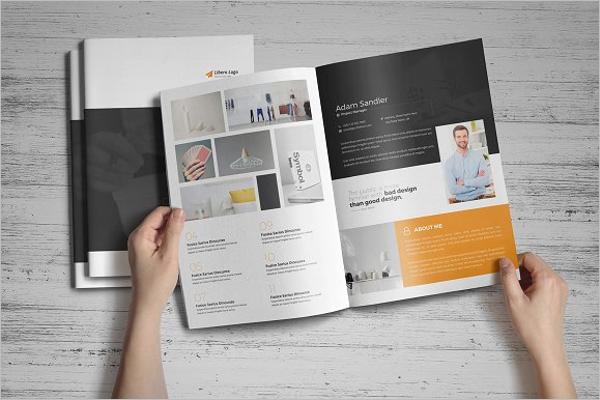 Modern Portfolio Brochure Design