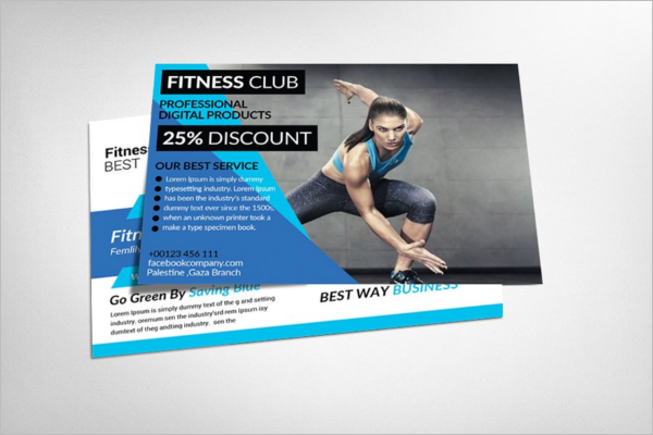 Modern Post Card Template