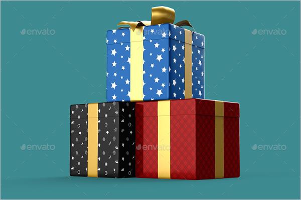 Multi Color Gift Boxes Design