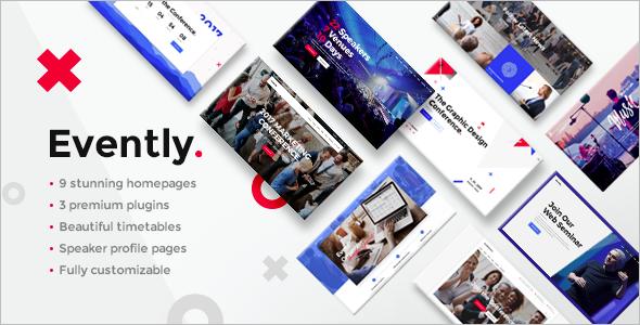 Multi Concept EventWordPress Theme