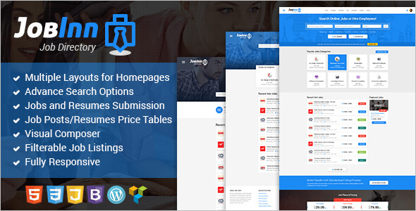 Multi Concept Job WordPress Theme