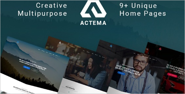 Multi Concept WordPress Theme
