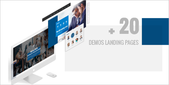 Multi Purpose Real Estate Landing Page Theme