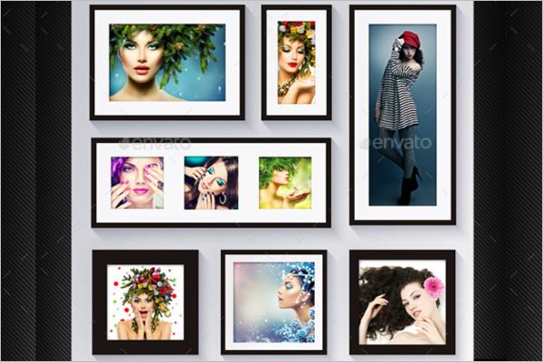 Multiple Photo Presentation Frame Design