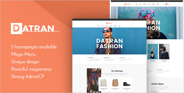 Multiple Responsive Prestashop Template