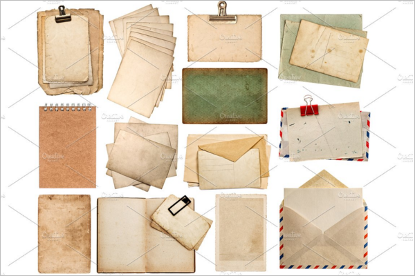 Multiple Vintage Envelopes