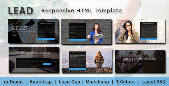 Multipurpose Business Landing Page Template