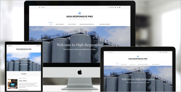 Multipurpose Company WordPress Theme
