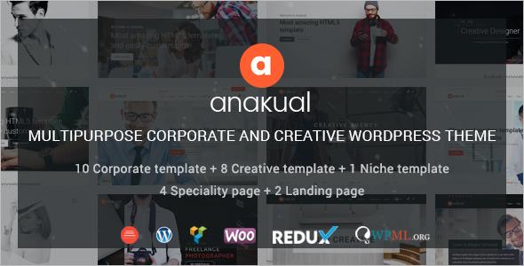 Multipurpose Corporate WordPress Theme