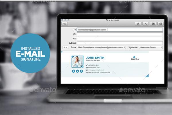 MultipurposeEmail Signature Template