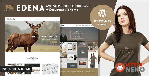 Multipurpose Grid Style WordPress Theme