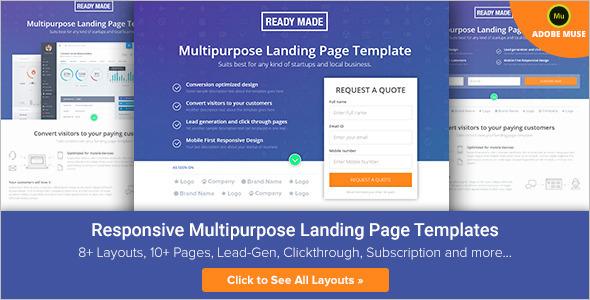 Multipurpose Landing Page Template