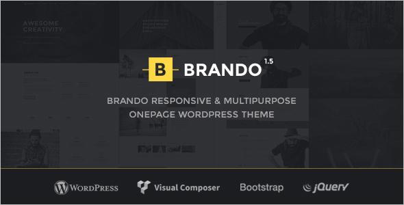 Multipurpose One Page WordPress Theme