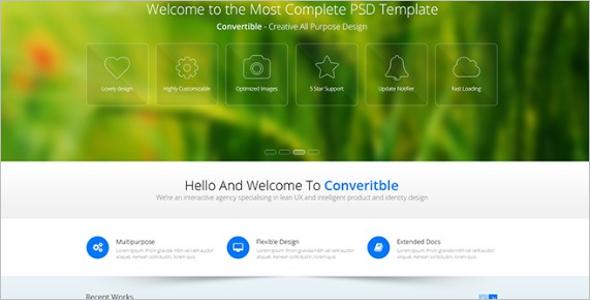 Multipurpose PSD WordPress Theme