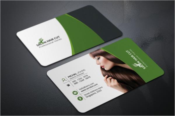 Multipurpose Salon Business Cards