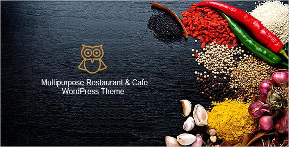Multipurpose catering WordPress Template