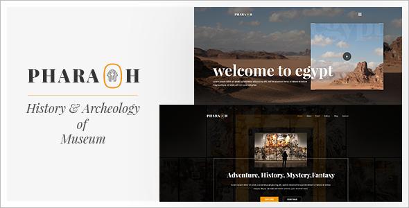Museum & Exhibition WordPress Template