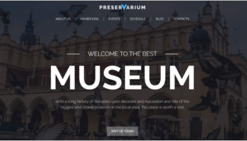 Museum WordPress Templates