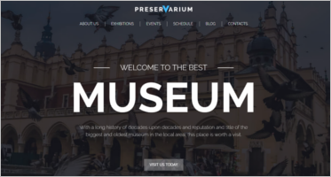 Museum WordPress Templates