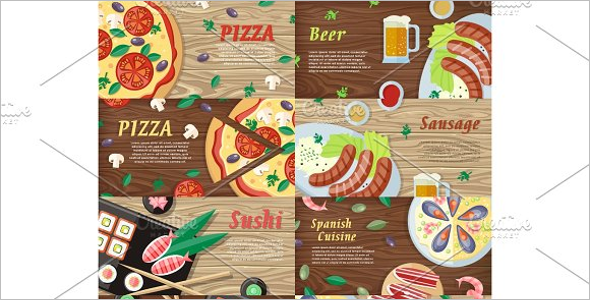 National Dishes Landing Page Template