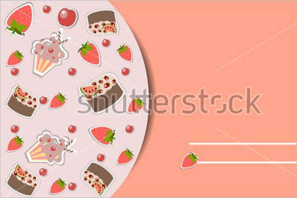 New Bakery Postcard Template