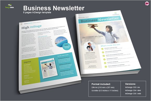 30 business newsletter templates free premium new business newsletter template wajeb Images