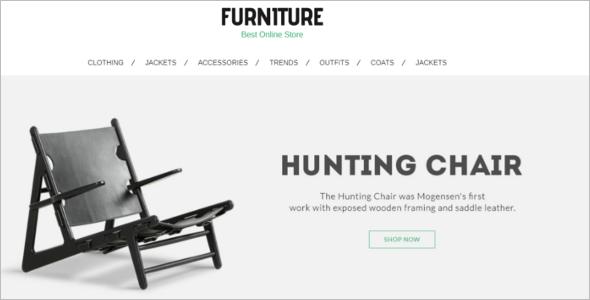New Furniture PrestaShop Theme