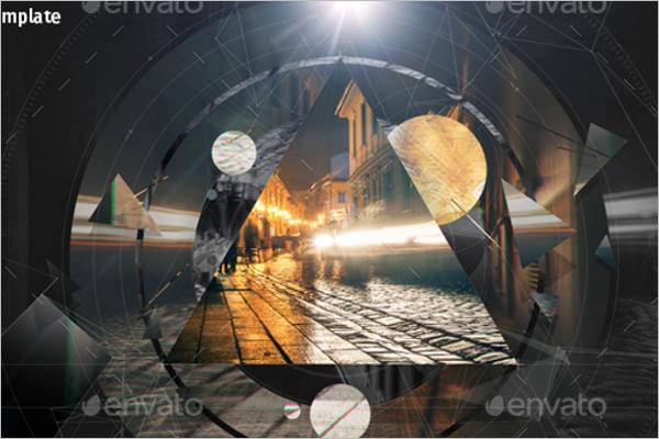 New Geometric Photo Template