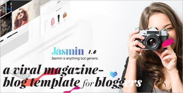 News Blog WordPress Theme