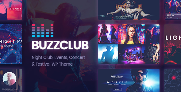 Night ClubWordPress Theme
