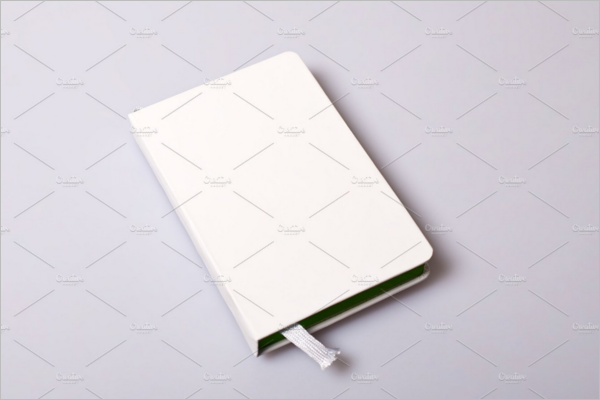 Notepad Blank Cover Mockup Design