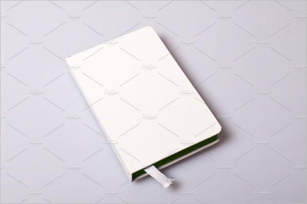 Notepad Blank Cover Mockup Design