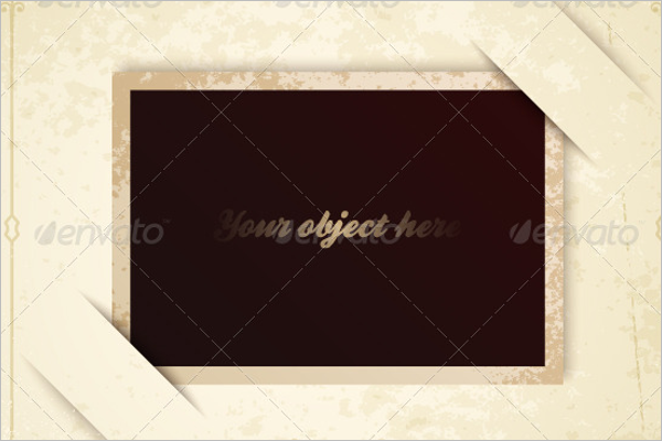 Old Antique Frame Template