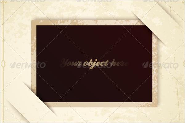 OldAntique Frame Template