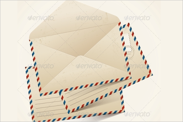 Old Envelope Template