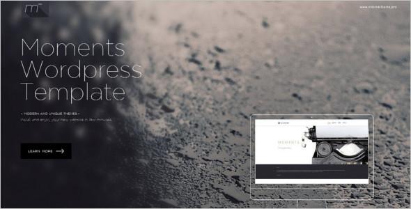 One Page WordPress Landing Page Theme