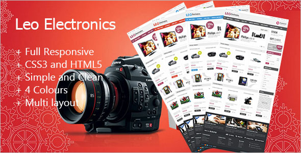 Online Electronics Prestashop Theme