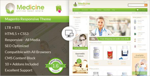 Online Medical Store PrestashopnTheme
