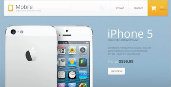Online Mobile Store PrestaShop Theme