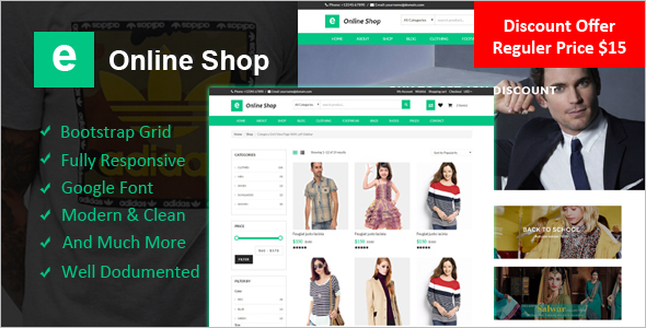 Online PHP eCommerce Template