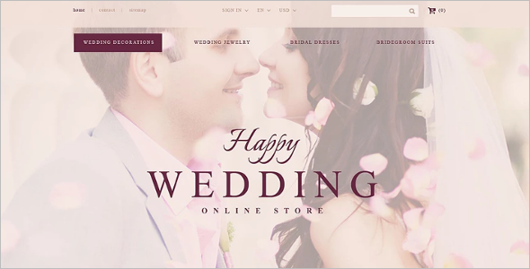 Online Wedding Store PrestaShop Theme