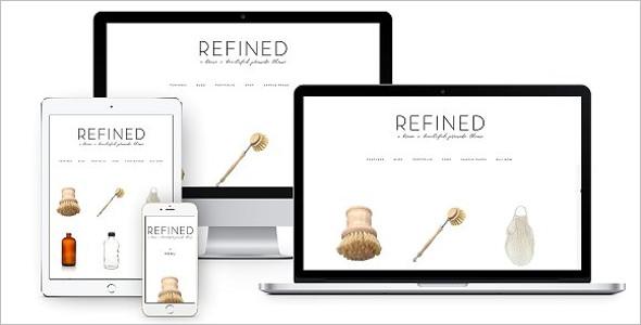 Online WordPress Theme