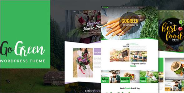 Organic Business WordPress Theme