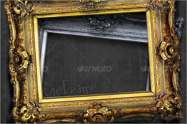 Ornate Picture Frame Design