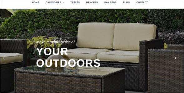 Outdoor Decorative PrestaShop Theme