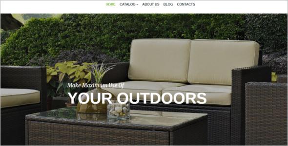 Outdoor Design VirtueMart Theme