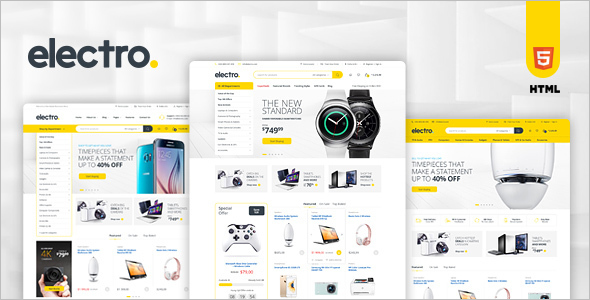PHP eCommerce HTML Template