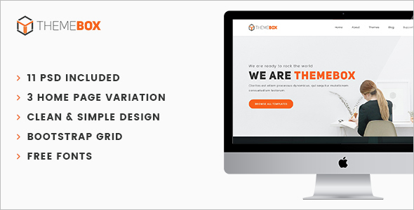 PHP eCommerce Html Website Theme