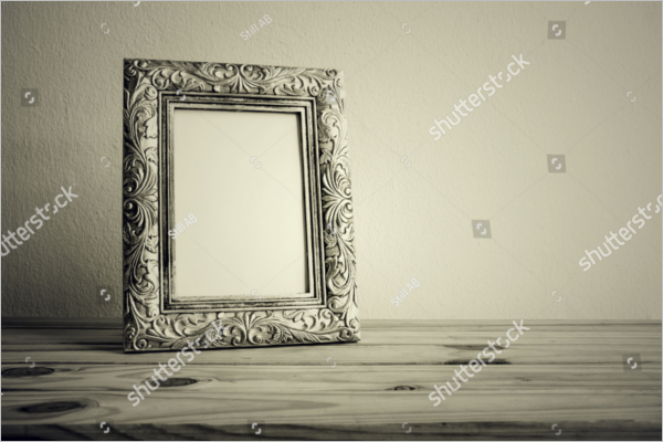 PSD Antique Photo Frame Download