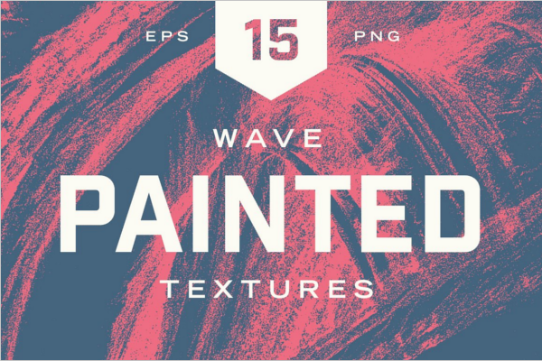 Painted Wave Textures